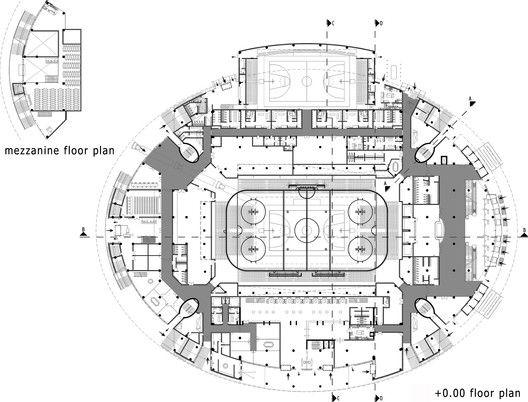 Gallery Of Ankara Arena Yazgan Design Architecture 20 Mimari Tasarim Mimari Tasarim