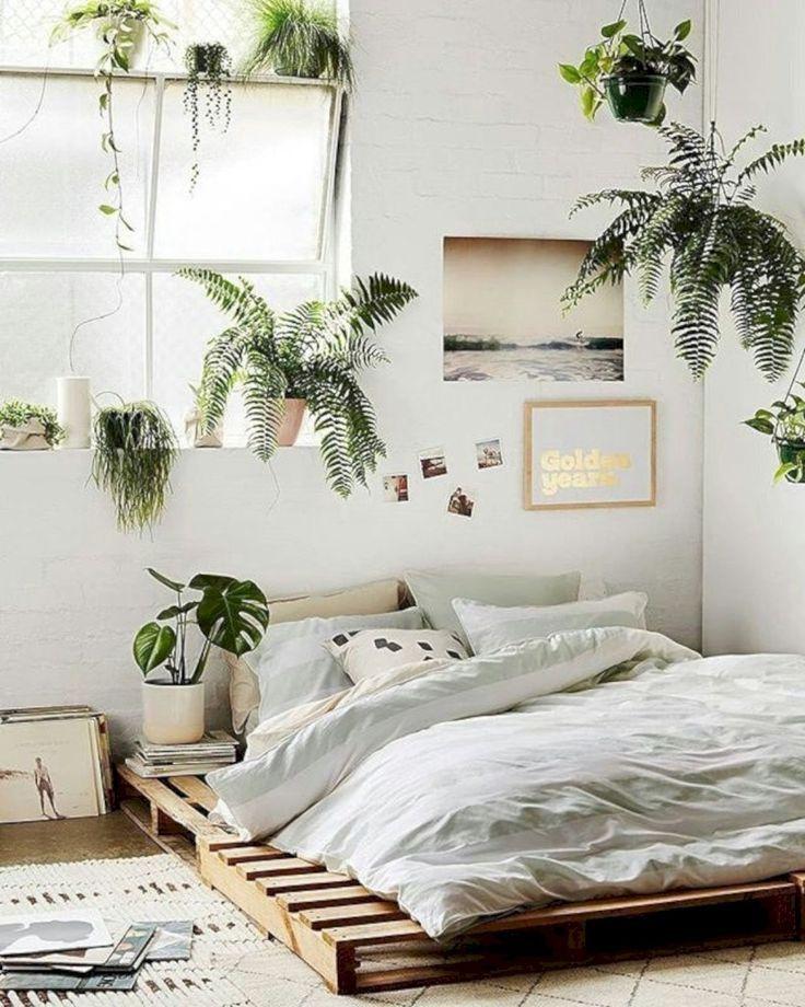 unglaublich 44 elegante Boho Schlafzimmer Dekor Ideen für kleine Wohnung