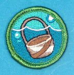 Under Water Basket Weaving Merit Badge @ Boy Scout Store. OMG! I SO need this one!