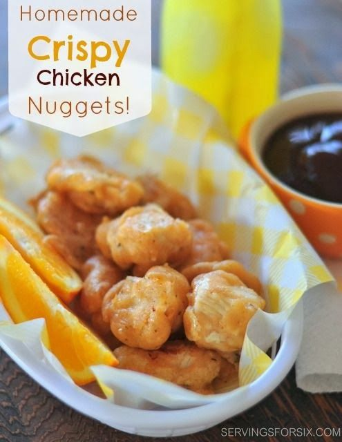 Homemade Crispy Chicken Nuggets Recipe | ASD: My Drake ...
