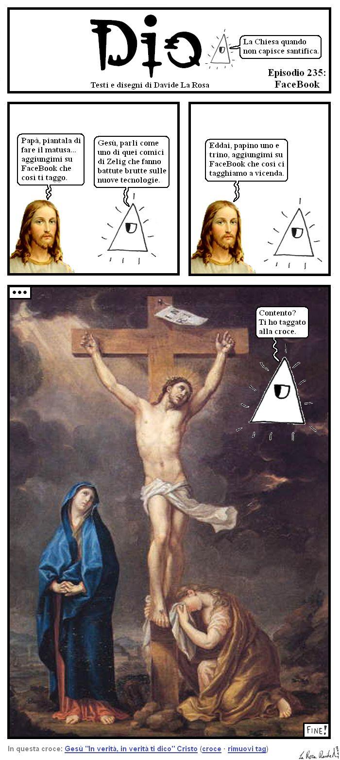 Gesù taggato !