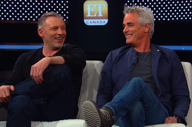 ET Canada | Blog - 'Due South' Stars Paul Gross And Callum Keith Rennie Talk Possible Reunion Movie - the only way it would be better is if David Marciano was there too.