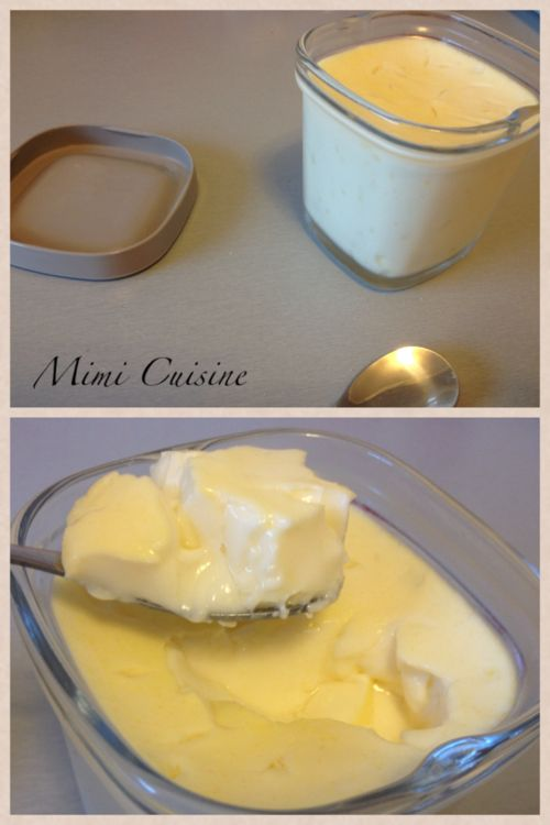Crème aux oeufs express