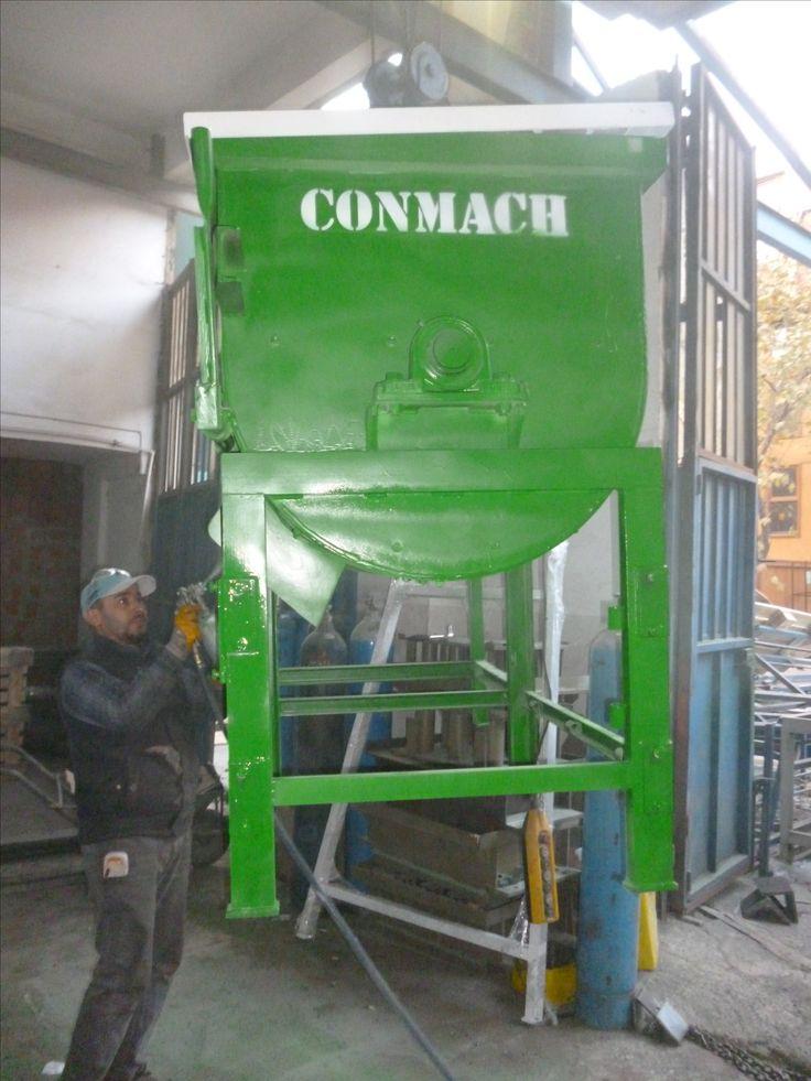 Concrete Interlocking Making Machine Mixer 9ms