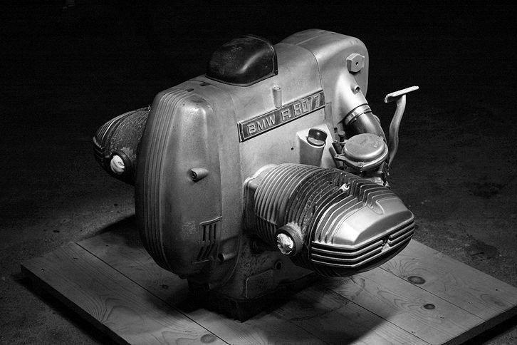A simple legend. BMW R 80 / 7 engine