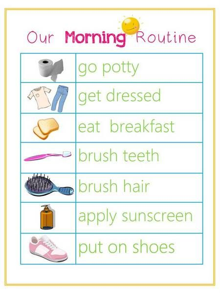 Creating Visual Routines for Kids
