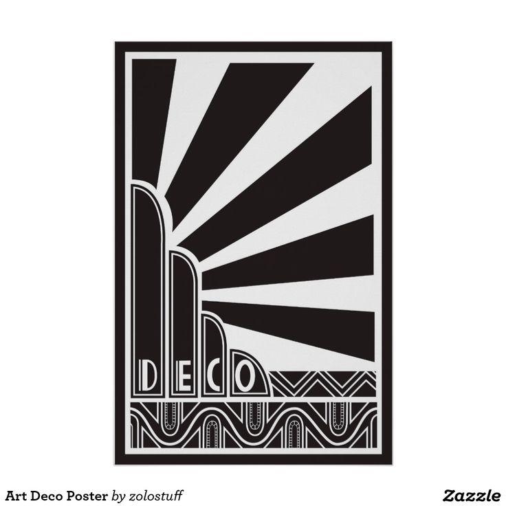Art Deco posters