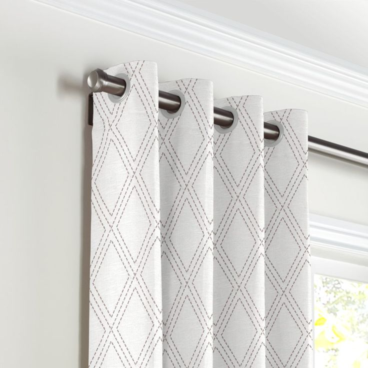 How To Put Large Grommets In Curtains