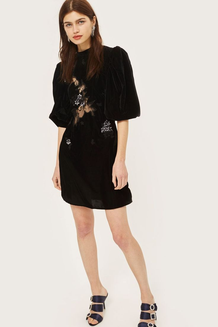Cutwork Lace Panel Dress - New In Fashion - New In - Topshop Europe
