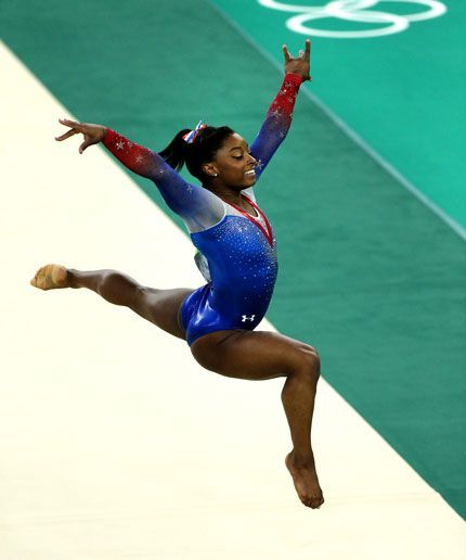 WATCH: Simone Biles nails her Olympic floor routine!