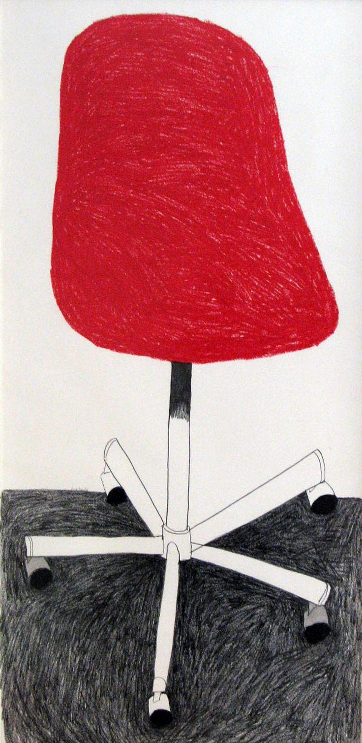 Red Chair, Anna Karatza