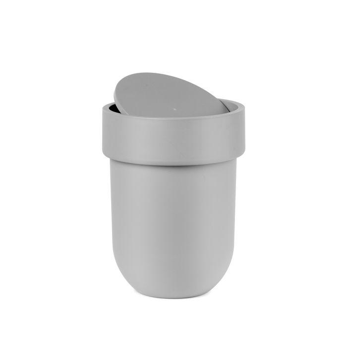 Flip Table Top Bin Grey