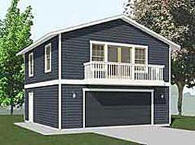 Behm Design Garage Apartment Plan 1307 1bapt A 2br 26 39 X