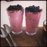 Skyr og frugt - nem morgenmad - Gymfoodie | Sunde mad og fitness opskrifter | Perfekte til diæt og vægttab
