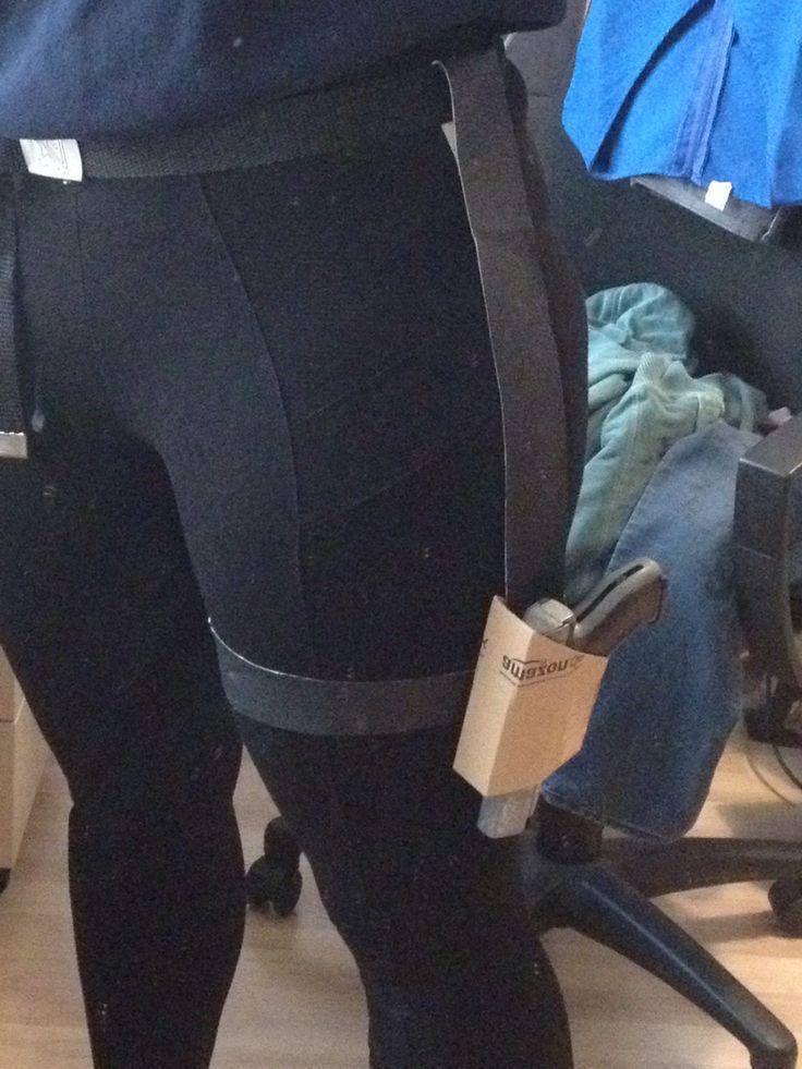 Black Widow Costume DIY