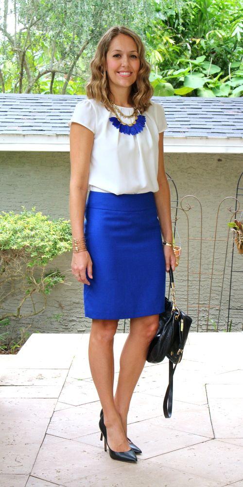 25  best ideas about Cobalt blue skirts on Pinterest | Cobalt blue ...