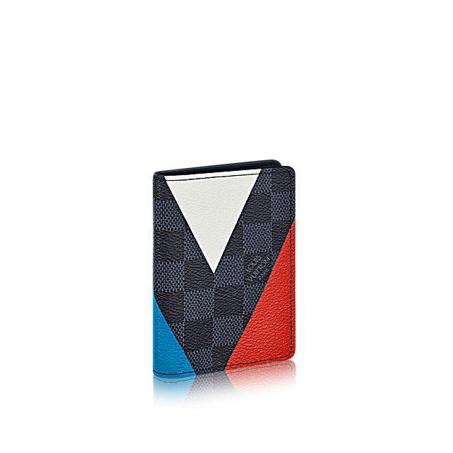 Pocket Organizer Regatta +Damier Cobalt Canvas - America's Cup Collection | LOUIS VUITTON