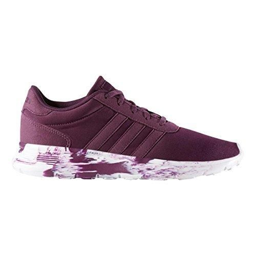 on sale 26701 0f59e ... amazon lazy orange purple adidas neo womens lite racer w running shoe  merlot f15 merlot f15
