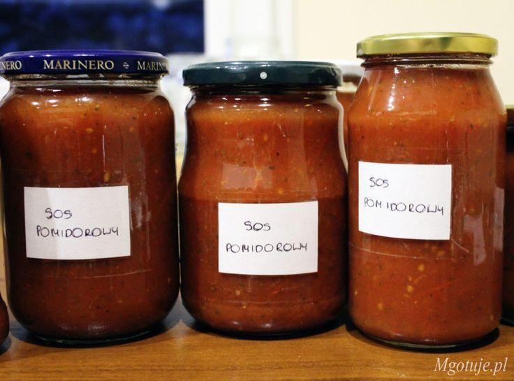 Sos pomidorowy dosłoików