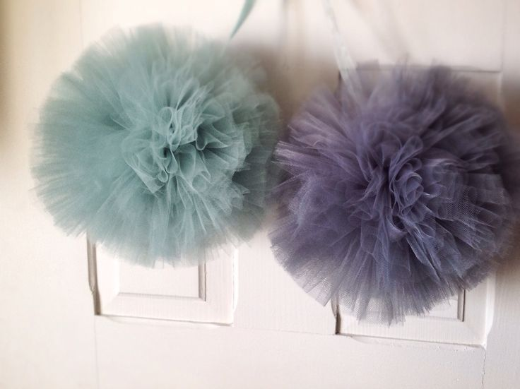 POMpom♥️ #mint&gray #pompom #handmade #siwczakhome