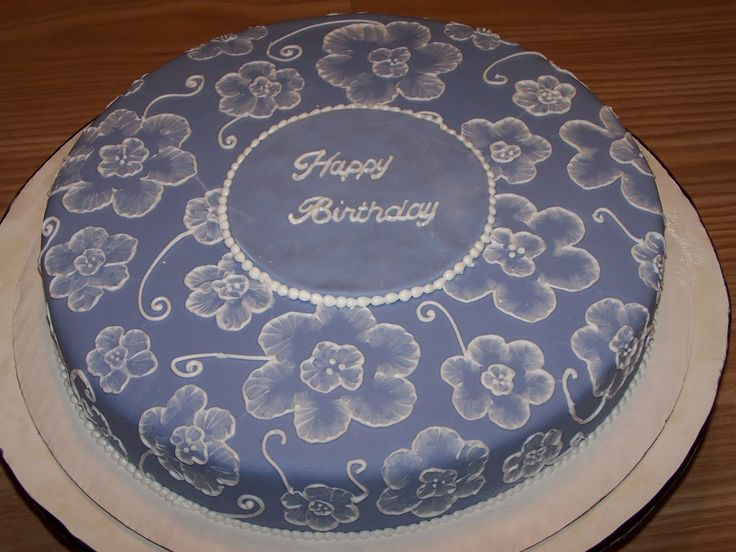 37 Best Images About Cakes Brush Embroidery On Pinterest