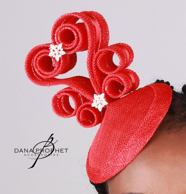 Red Hearts Sinamay Fascinator. Fun and flirty – this fascinator will light up any party. With Rhinestone accents. https://danaprophetaccessories.com/fascinators/red-hearts-sinamay-fascinator/  In South Africa? Go to @desch_luxury_wear in Sandton City to see this and even more fascinators! http://www.desch.co.za  #hat #fascinators #races #durbanjuly #horserace #southafrica #fashion #style #kentuckyderby #vodacomdurbanjuly #trending #royal #sinamay #celebrations #weddings #wedding #bride…