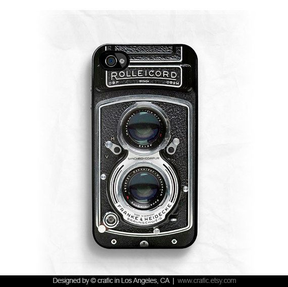 Vintage Camera iPhone 4 Case iPhone 4S case iPhone 5 by CRAFIC, $19.99