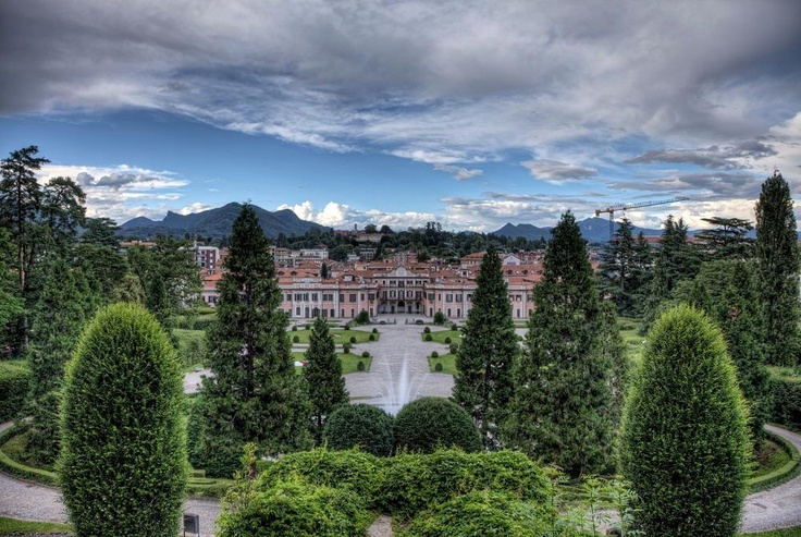Varese, Giardini Estensi. Foto di IAT Varese.