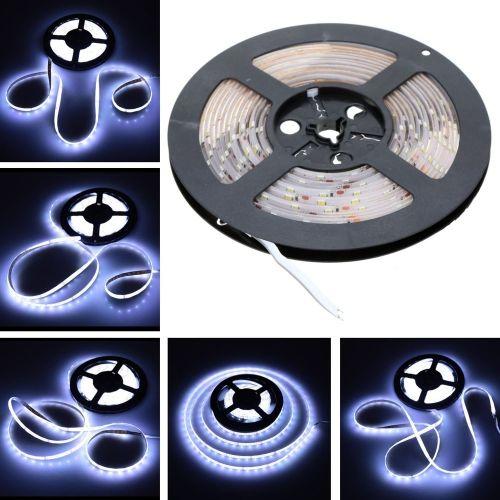 LIXADA SMD 3528 Fiexble Light IP65 60LEDs/m 5m/lot 12V LED White Strip Light for Bar Hotel Restaurant�C TOMTOP