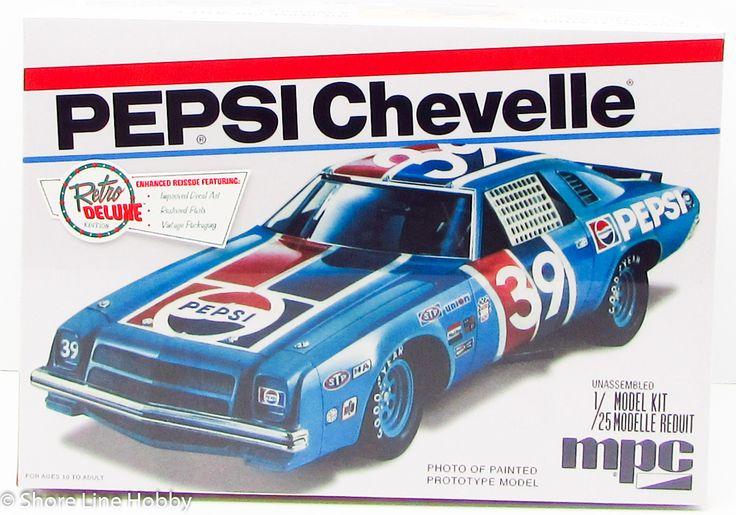 MPC Pepsi Chevelle NASCAR 808 1/25 New Plastic Model Kit