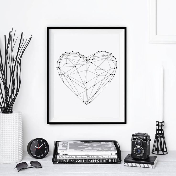 Decor | Quadros preto e branco