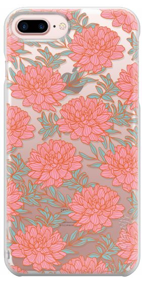 Casetify Protective iPhone 7 Plus Case and iPhone 7 Cases. Other Flower iPhone Covers - Dahlia by Teresa Chan | Casetify