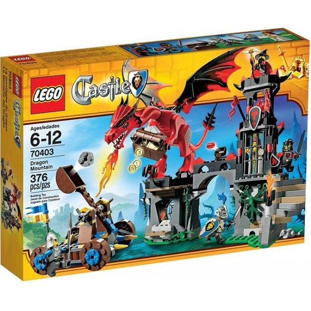 Đồ chơi LEGO Castle 70403 Dragon Mountain – Núi Rồng