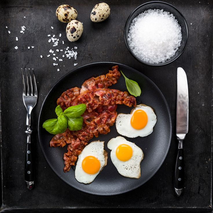 Bacon and quail eggs by Christian Fischer on 500px