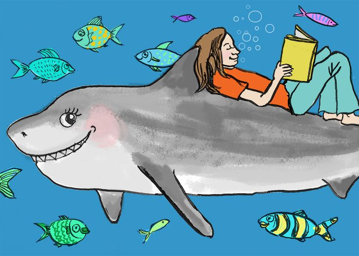 """What is it about kids and sharks? If your kid is a """"Jaws"""" fan in training, here is a list of amazing shark books for them to bite into."""