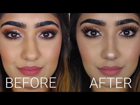 How to Make a BIG Nose look Small | Nose Contouring - YouTube