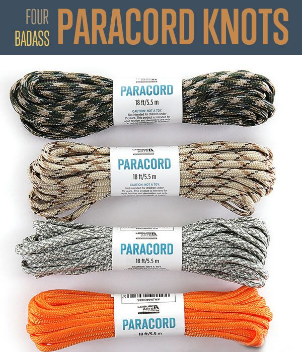 Paracord Knots | How to Tie Survival Knots with Paracord | Best DIY Paracord Projects and Instructions #survivallife | survivallife.com
