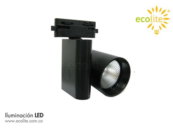Track Light LED ECOLITE, iluminación estratégica para decorar con estilo y realzar los colores, con bajo consumo de energia.