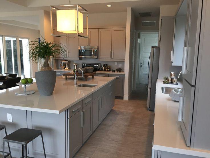 Quartzforms - Anaheim, CA, États-Unis. Absolute Light Grey countertop