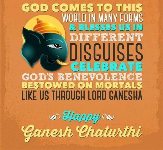 """""""Ganesh Chaturthi Marathi SMS Messages 2015 Text Msg for Gf Wife BF"""""""