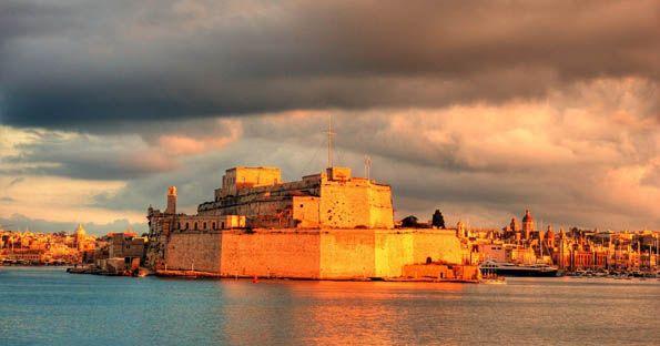 Restauro della Fortificazione di Fort Sant Angelo nella città di Birgu a Malta