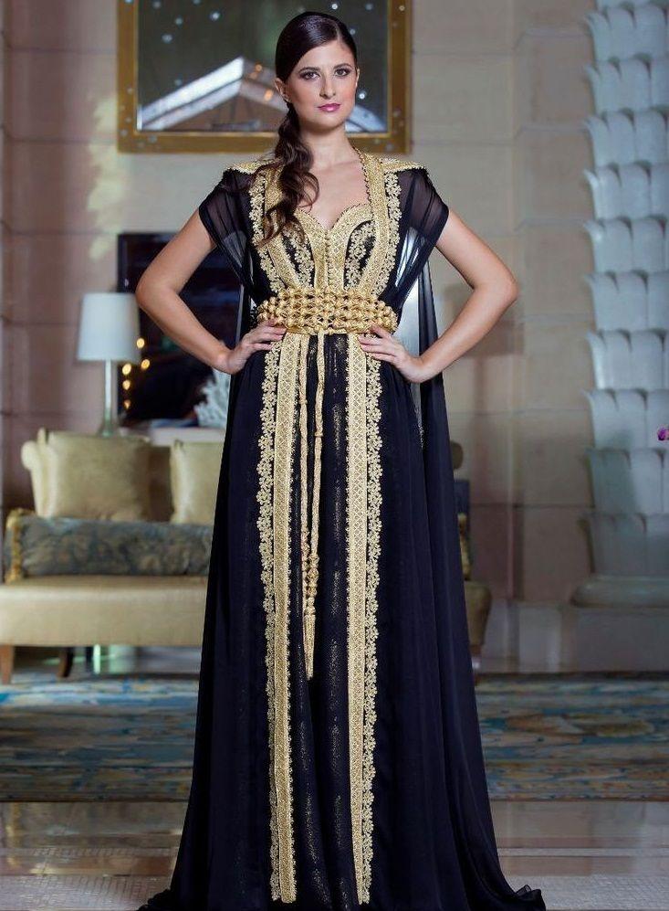 Caftan Marocain Styles Uniques de Luxe