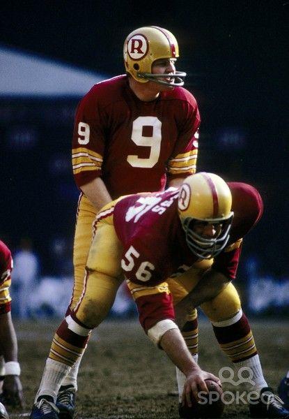 rfk stadium redskins | ... Redskins quarterback Sonny Jurgensen (9) during the 1970 season at RFK. Washington, D.C.
