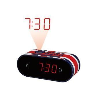 Radio-réveil projecteur Dcybel London_0