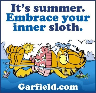 Image result for garfield have a great summer