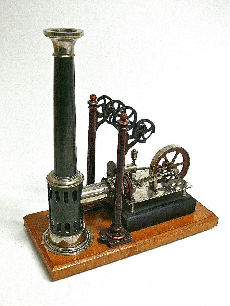 Ernst Plank Nuernberg Steam Engine hot air engine - www.remix-numerisation.fr