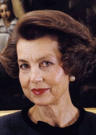 Liliane Bettencourt Passion Pays: World's Top 15 Retail Billionaires New Blog Series thestyleweaver.blogspot.com