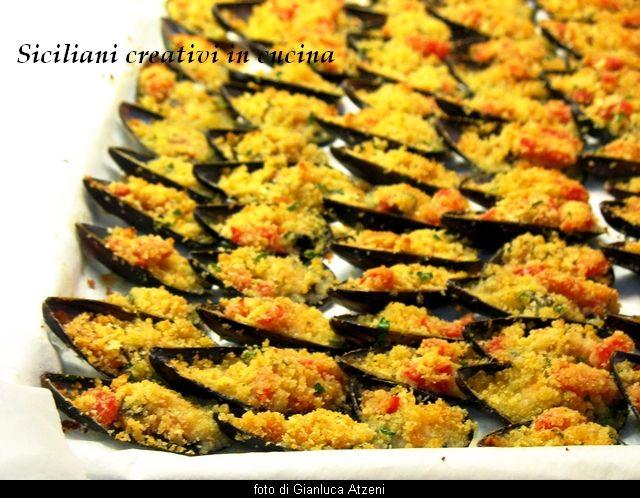 Cozze gratinate | SICILIANI CREATIVI IN CUCINA |