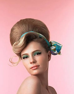Oh, bee-hive yourself!  Cute Sixties look I think could be recreated with Palette d'Antoinette, Quill, and Coquette
