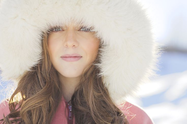 beauty, portrait, winter photoshoot, outdoor, photoshoot inspiration #beauty #beautyphotography #photographyinspiration